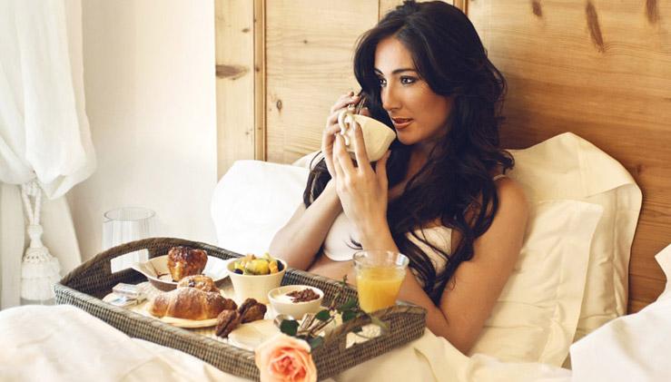 Frühstück einsam